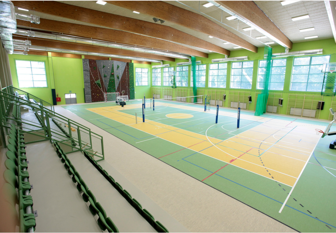 Sports hall at the os. Wojska Polskiego