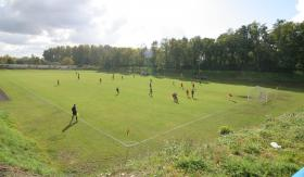 GKS Piast sports field at Baildona housing estate