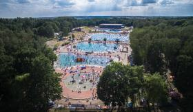 Leśne open swimming pool