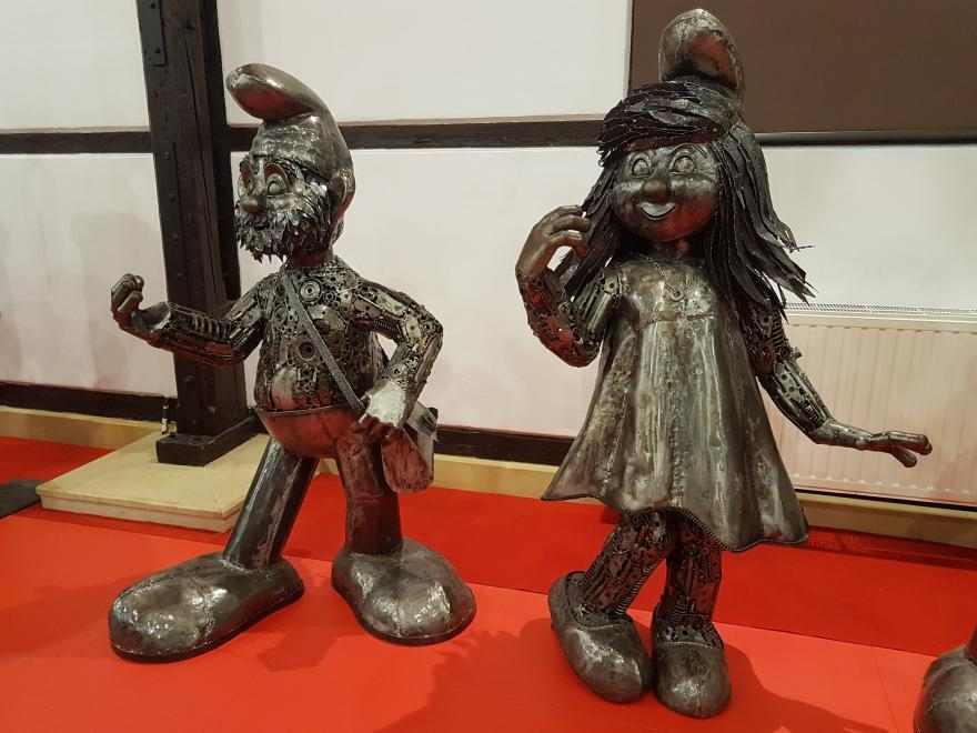 Gallery of Steel Figures